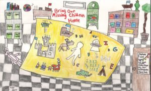 Michael Faccenda A Fifth Grader At Lincoln Elementary In Great Falls Is The Winner Of The 2017 Montana Bring Our Missing Children Home Poster Contest
