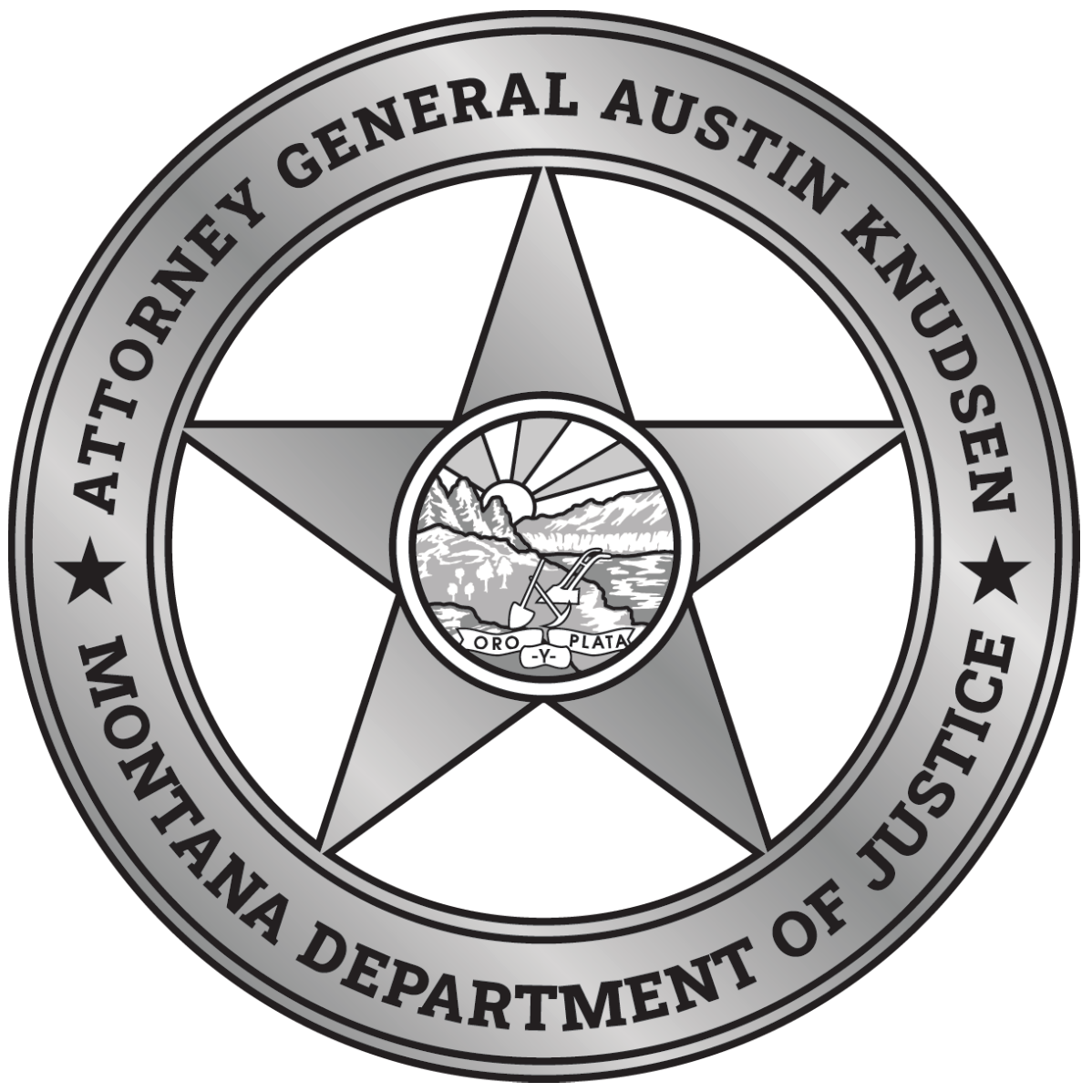 DOJ Logo - Can also use to return to the home page